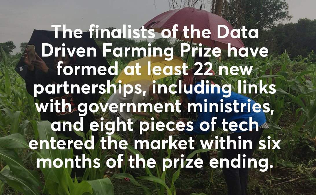 Data Driven Farming finalists success