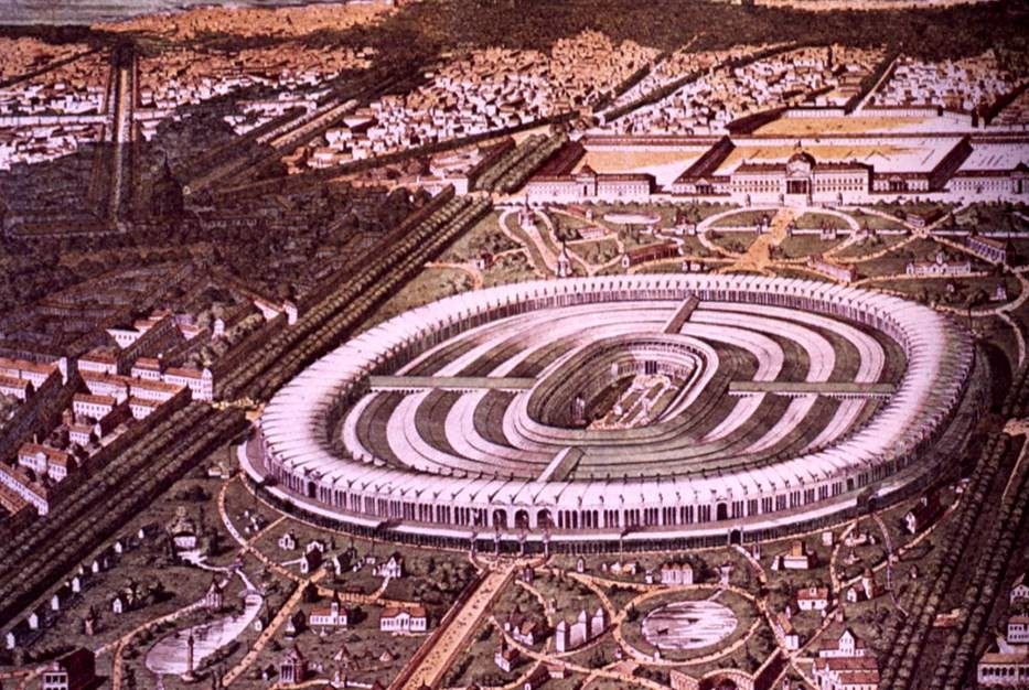 "World Expo in Paris 1867 - ""Exposition Universelle"". Image: Imágenes por Temas (CC License)"