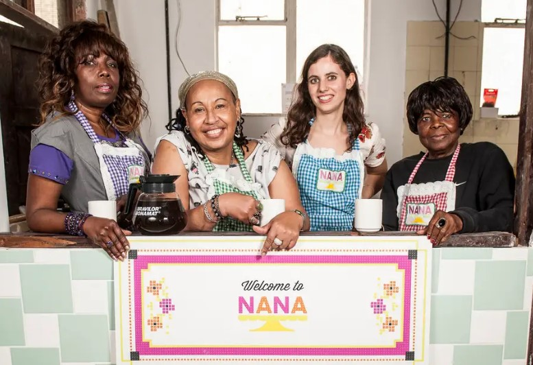 four women who founded Nana, a community cafe