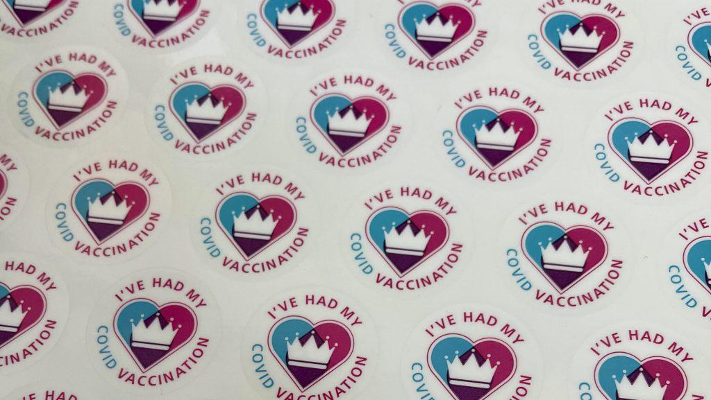 I've had my COVID Vaccine sticker sheet